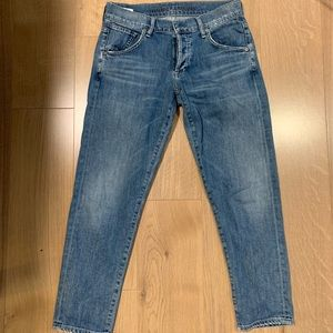 Medium wash size 25 citizens of humanity jeans